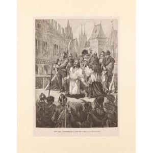 Juliusz Kossak (1824-1899), Śmierć księcia opolskiego Mikołaja II w Nisie w 1493 roku