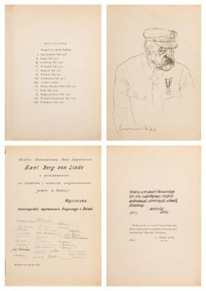 Zdzisław Czermański (1900-1970), Józef Piłsudski w 13 planszach, 1935