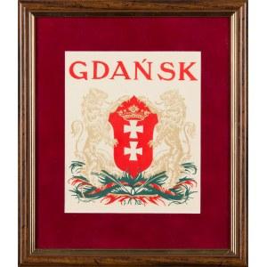 Jan Bukowski (1873-1938), Herb Gdańska