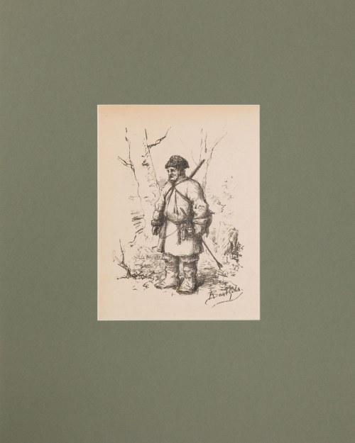 Artur Bartels (1818-1885), Myśliwy