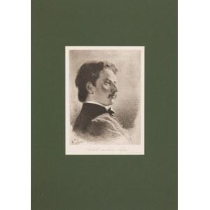 Artur Grottger (1837-1867), Portret malarza Tepa