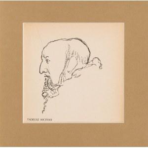 Kazimierz Sichulski (1879-1942), Tadeusz Miciński, 1904