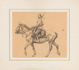 Ryszard Prauss (1902-1955), Ułan na koniu