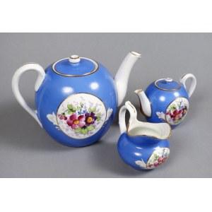 Serwis do herbaty Gardner 1880-1917 r.