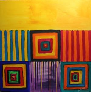 Anna Sagermann Bustinza, Moje okno na świat 9 (2016)