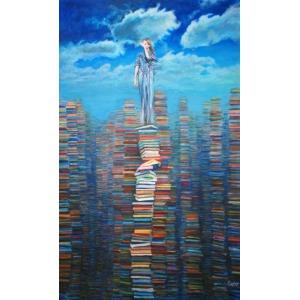 Katarzyna Orońska/Orno, El mundo del libro II (2016)