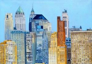 Joanna JEŻEWSKA-DESPERAK, New York, New York z cyklu Zapiski z podróży, 2021 r.