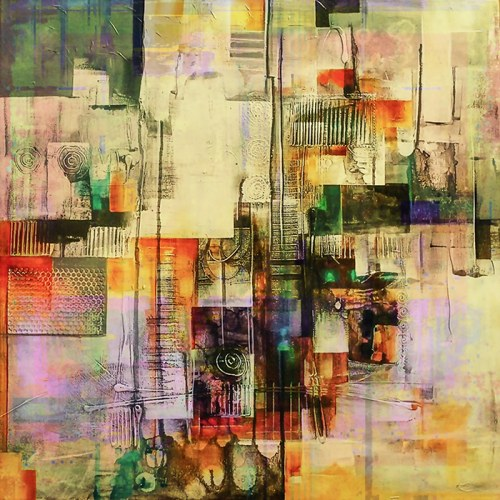 Andrzej Andrychowski,Abstract51a, 2020
