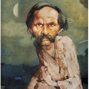 Duda Gracz Jerzy, PORTRET BOHDANA SMOLENIA, 1988