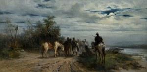 Gędłek Ludwik, NOCNY ZWIAD, 1889