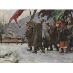 Axentowicz Teodor, PROCESJA HUCULSKA