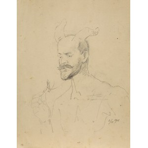 Malczewski Jacek, FAUN – AUTOPORTRET, 2 LISTOPADA 1911