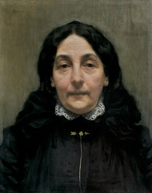 Pankiewicz Józef, PORTRET PANI P., 1901