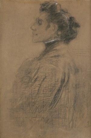 Boznańska Olga, AUTOPORTRET, OK. 1912
