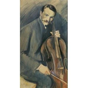 Fałat Julian, WIOLONCZELISTA, 1908