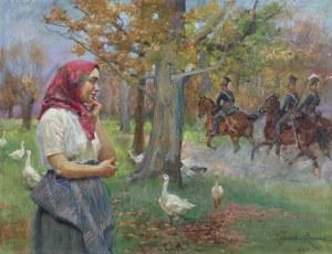 Kossak Wojciech, HEJ, HEJ UŁANI..., 1931