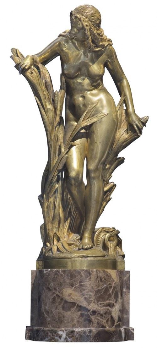 Carrier-Belleuse Albert-Ernest, NIMFA, XIX/XX W.