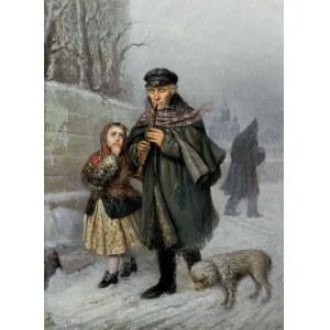 Bończa Tomaszewski Julian, KLARNECISTA – SCENA Z ULICY PETERSBURGA, 1868