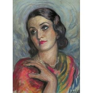 Berlewi Henryk, KOBIETA W PERŁACH, 1934