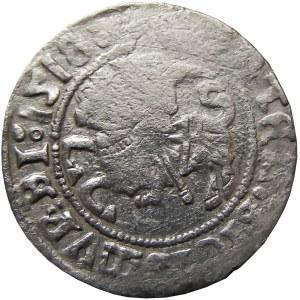 Zygmunt I Stary, półgrosz 1518 MONTEA, Wilno