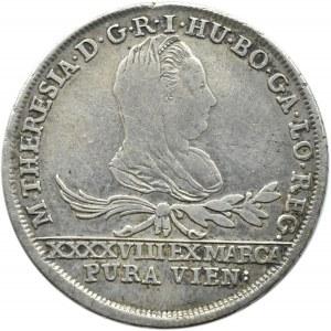 Zabór Austriacki, Ks. Oświęcimsko-Zatorskie, 30 krajcarów (dwuzłotówka) 1777, Wiedeń