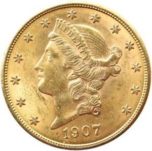 USA, 20 dolarów 1907, Filadelfia