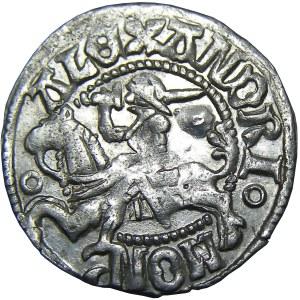 Aleksander I Jagiellończyk, półgrosz litewski, Wilno, emisja 7