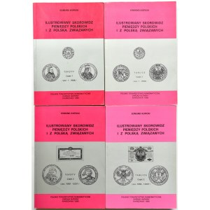 E. Kopicki, Ilustrowany Skorowidz pieniędzy polskich i z Polską związanych, Warszawa 1995, 4 tomy