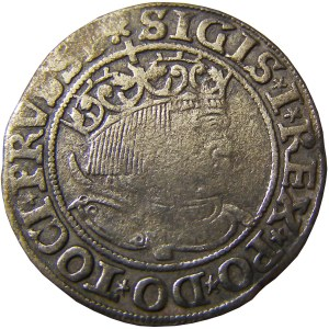 Zygmunt I Stary, grosz pruski 1533, Toruń, PRVSSI/PRVSSI
