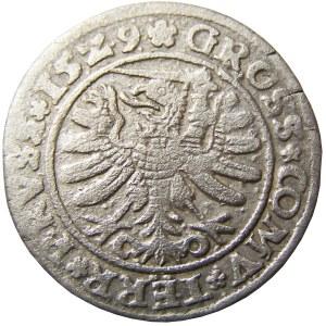 Zygmunt I Stary, grosz 1529, Toruń, PRVSS/PRVSS