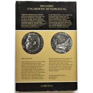 L. Huszar, Katalog monet węgierskich, wersja niemiecka, Corvina 1979