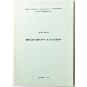 M. Salamon, Mennictwo Cesarstwa Bizantyjskiego, wyd. PTAiN, Kraków 1980