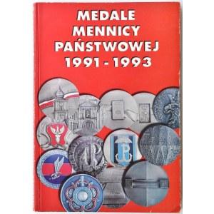 M. Kamiński, Medale mennicy państwowej 1991-1993, Warszawa 1994