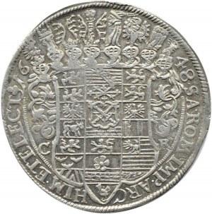 Niemcy, Saksonia, Johann Georg I, talar 1648, Drezno