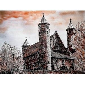 Zdzisław Chlebowski ,Kościół w Brochowie 2020