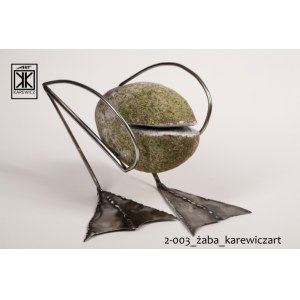 Krzysztof Karewicz ART, Steel and Stone, Żaba 2019