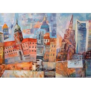 Dariusz Piekut (ur. 1959), Bajkowa Warszawa VIII, 2021