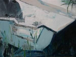 Kinga Wnuk-Moskalska (ur. 1975), Kompozycja z łódką, 2020