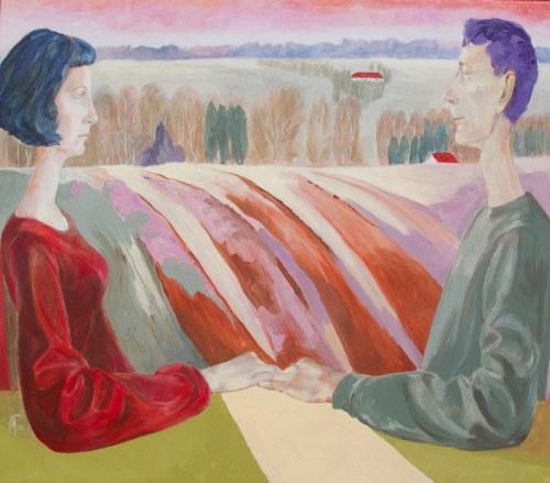 Małgorzata Fenrych (ur. 1964), Dwoje ludzi, 2021