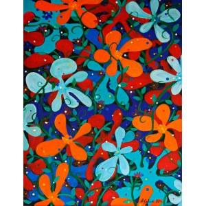 Andrzej Grabowski (ur. 1962), Play of colors, 2021