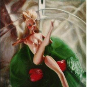 Monika Malewska (ur. 1974), Barbie w Zielonej Galaretce, z cyklu: Słodki Deser 2, 2015