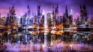 Andrzej Andrychowski, Velvet City Panorama, 2020