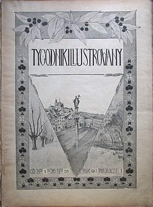 TYGODNIK ILUSTROWANY. W-wa 1917. Wydawcy Gebethner i Wolff. Druk. Piotra Laskauera...
