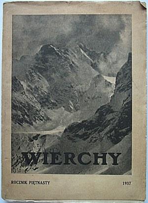 WIERCHY. Rocznik poświęcony górom i góralszczyźnie...