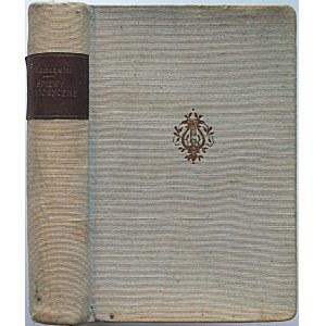 NIEMCEWICZ JULIAN URSYN. Śpiewy historyczne. Wydanie nowe poprawione według wydania petersburskiego...