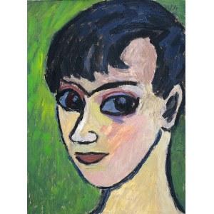 Arika Madeyska (1928-2004), PORTRET, 1962 r.