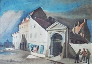 Władysław Skoczylas (1883-1934), MOTYW Z SANDOMIERZA, ok. 1930 r.