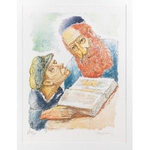 Chaim Goldberg (1917-2004), RABIN I UCZEŃ