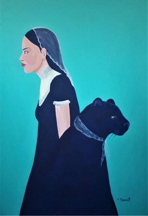Agata BURNAT (ur. 1998), Czarna pantera II