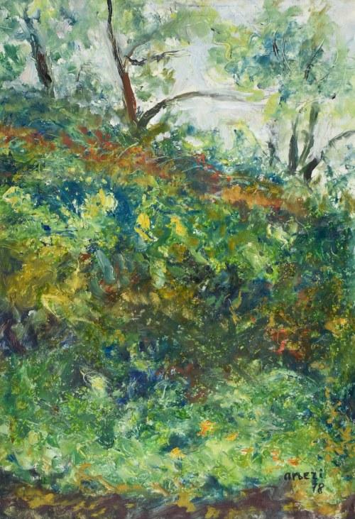 Irena WEISS – ANERI (1888-1981), Chaszcze, 1978